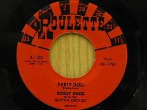 Buddy Knox 45 Party Doll Bw My Babys Gone On Roulette Ebay