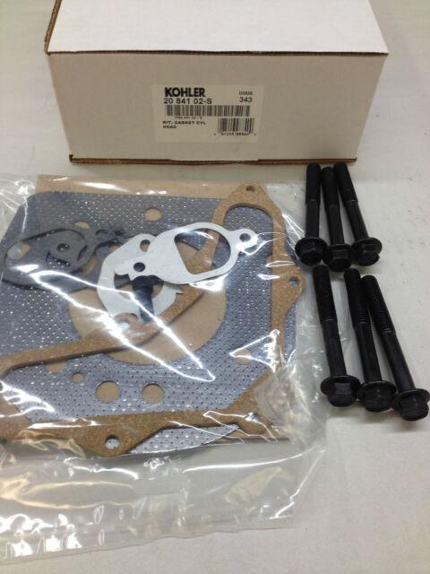 94 MM BORE Part# 20 841 01-S Genuine Kohler OEM KIT HEAD GASKET