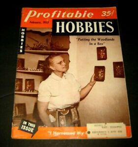 Profitable Hobbies Magazine February 1953