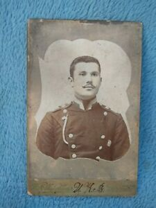 Authentic photo of a Polish officer. Warsaw 1900-10. Original