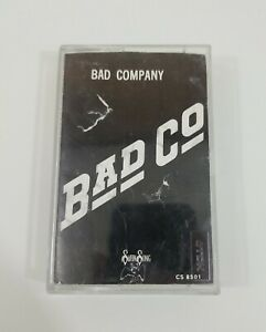Bad Company Bad Co Cassette 1974 Swan Song