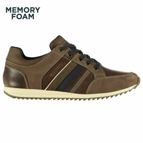 Kangol Mens Morden Leather Lace Up Sports Shoes Casual Sneakers