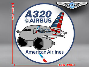 AMERICAN-AIRLINES-AA-AIRBUS-A320-A-320-PUDGY-DECAL-STICKER