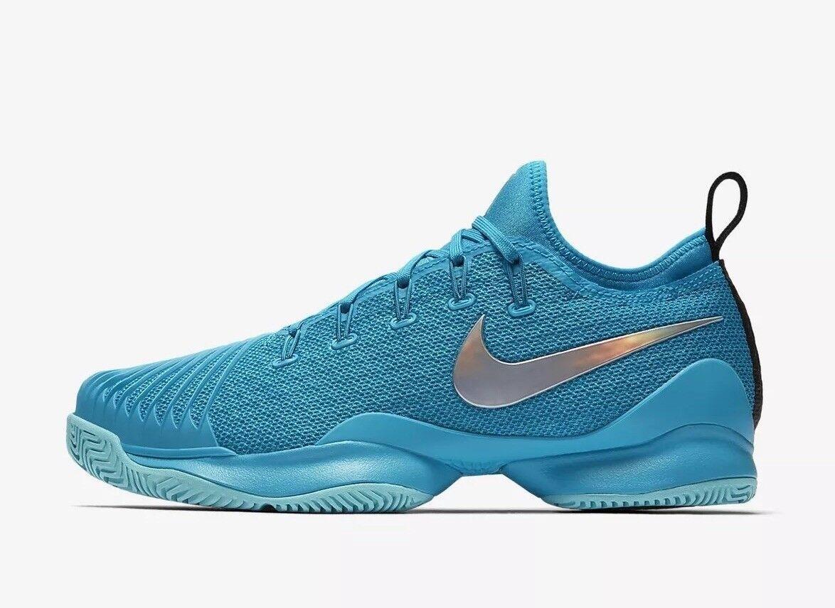 Tribunal de Nike Air Zoom Ultra reaccionar Hard Hard Hard Court Tennis 859718-403 UK 5.5 EU 39 nos 8  gran descuento