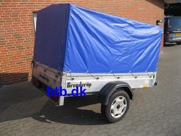 Ladtrailer, Brenderup 1205S, lastevne (kg): 350