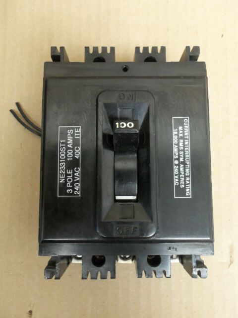 NE233030 Federal Pacific FPE Type NE Circuit Breaker 3 Pole 30 Amp 240V