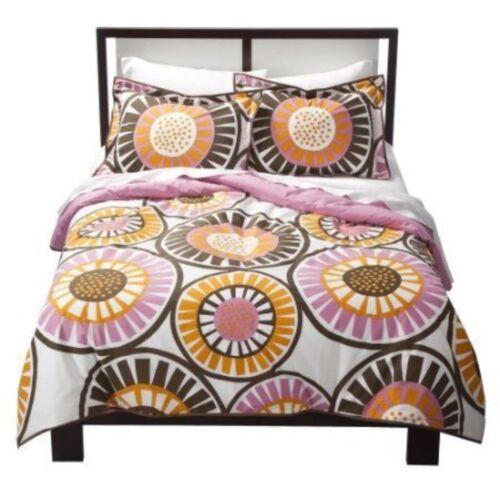 NEW DwellStudio For Target Duvet Full QueenPaper Cut Floral Two pillow cases