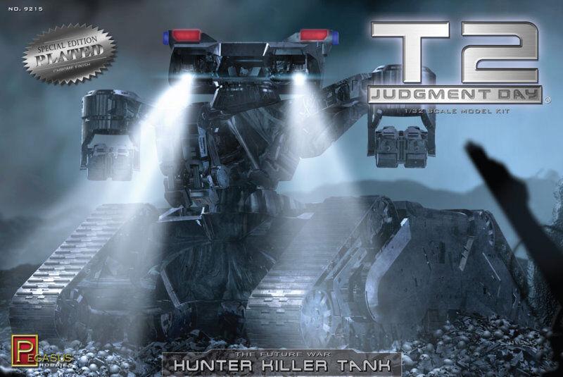 Pegasus Terminator 2 Hunter Killer Tank Plastic Model Kit 9215 PGH9215
