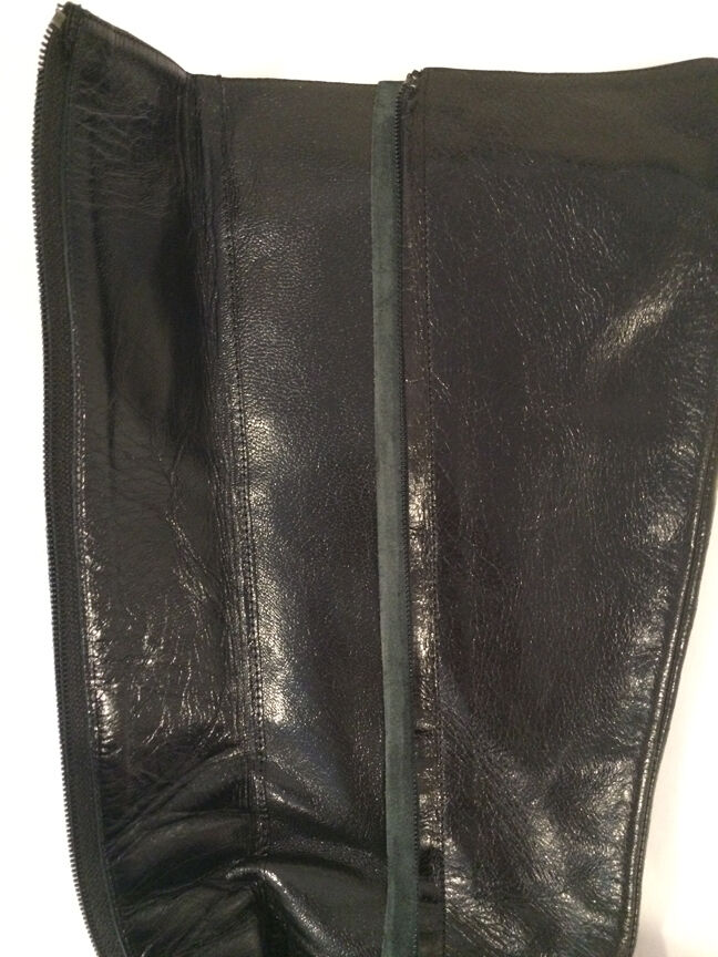 WOMENS BARNEYS COOP - Black Leather Knee High Boots - - - Size 36.5 (6.5) f7f3ff