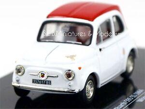 FIAT-ABARTH-595SS-1964-BLANC-ROUGE-1-43-AV17DC