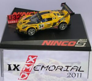 Ninco Lotus Exige Gt3 Memorial Xmd 2011 Edition Limitée 60units Mb