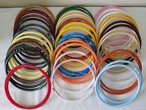 "Pair of 9/"" Burgundy Marble Marbella Plastic Macrame Craft Handbag Purse Handle"