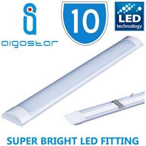 Bright strip fluorescent