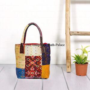 Kantha-Work-Indian-Tote-Bag-Antique-Banjara-Bag-Vintage-Bag-Hobo-Messenger-Boho