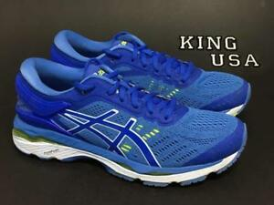 d913ebee Details about Women's Asics GEL-Kayano 24 Running Athletic Shoes Blue  Purple Regatta White
