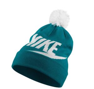 0ce911d74 Image is loading NIKE-Sportswear-Knit-womens-Beanie-Winter-Hat-Removable-