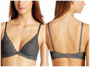 14a5b890cee1d Image is loading NATORI-730023-Lace-CONTOUR-PLUNGE-UNDERWIRE-Padded-Bra-
