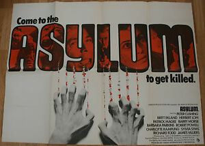 Asylum-Original-UK-Quad-Film-Poster-Rare