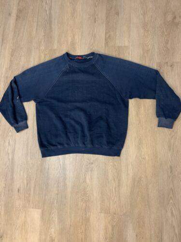 Vintage Paper Thin Crewneck Sweatshirt 1960's VINT