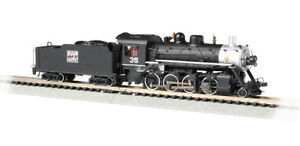 N-Scale-Bachmann-51351-2-8-0-Consolidation-Western-Pacific-35-w-SND-DCC