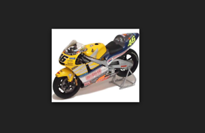 Honda NSR 500 2001 GP le mans V.Rossi World Champion 122016176 1/12 Minichamps