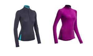 7f91f78f0d7 ICEBREAKER Women's Merino Wool BOLT 150 HALF ZIP - NEW WITH TAGS! | eBay
