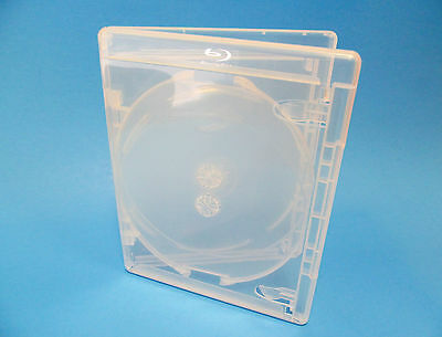 NEW! 15 VIVA ELITE Blu-ray CLEAR 3-Disc Cases - Holds 3 discs Triple