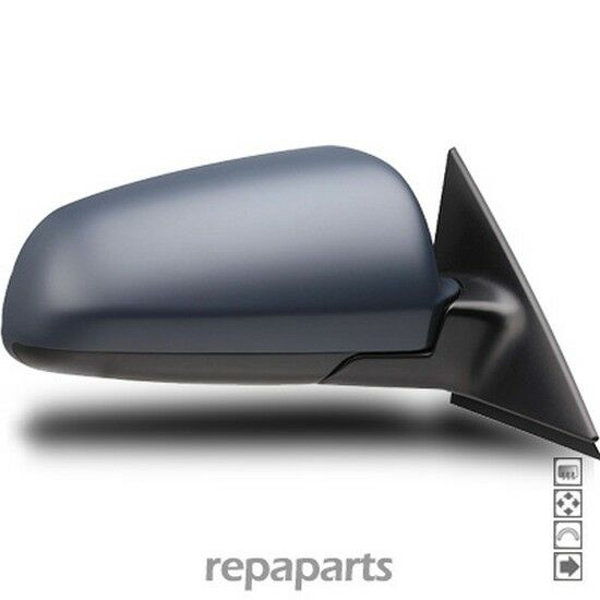 Espejo Retrovisor Derecho para Audi A3 (8P) 2003-2008 Espejo Eléctrico Derecho