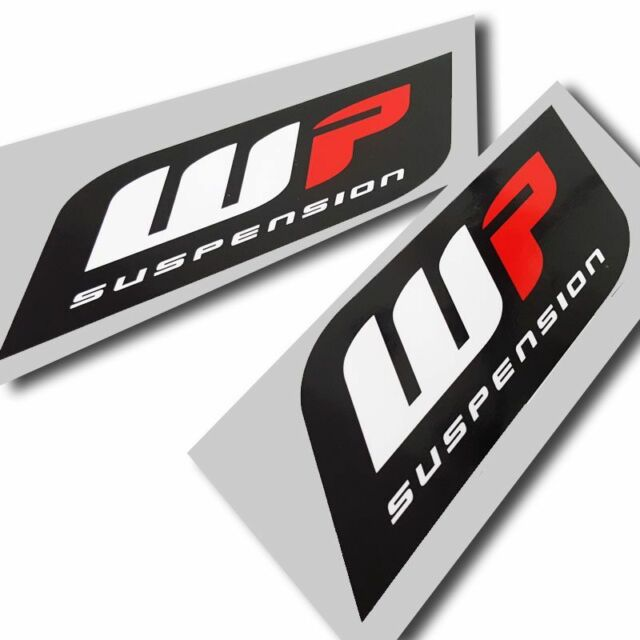 Wp suspension forks stickers motorcycle decals custom graphics x 4 small style2