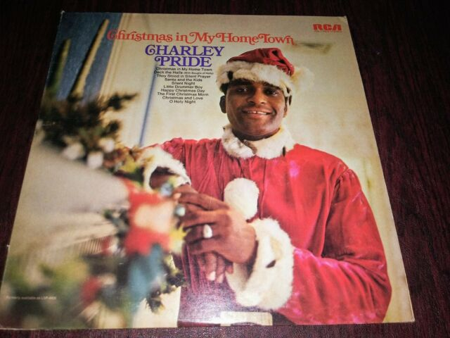 Charley Pride, Christmas in My Home Town, Xmas LP   eBay