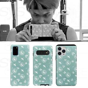 BTS RM Phone Case Gorye Celadon Unhakmun 고려청자 운학문 By mimidar + Tracking Number