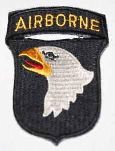 AUFNÄHER PATCH US AIRBORNE 101st DIVISION AB VIETNAM LUFTLANDEDIVIS<wbr/>ION WK2 ARMY
