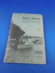 SAFETY-AFLOAT-BOATING-MANUAL-VINTAGE-1966-DEPARTMENT-OF-TRANSPORT-OTTAWA-CANADA
