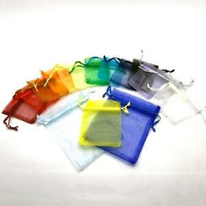 50-25-LUXURY-Organza-Gift-Bags-Jewellery-Pouches-Wedding-Party-Candy-Favour