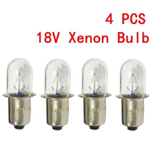 4 For Porter Cable 18 v Volt Flashlight Replacement Xenon Bulb PC18FL PCL180L