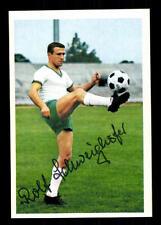 Rolf Schweighöfer Werder Bremen Bergmann SB 1967-68 Original Signiert+ A 114783