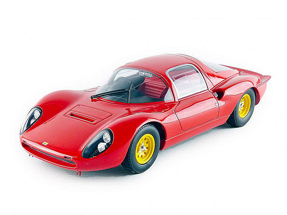 Ferrari Dino 206 S Coupe' Plain Body Rojo  Model CMR