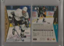 Wayne Gretzky Signature 1994-95 SP Upper Deck Authenticated  2 card set #499/500
