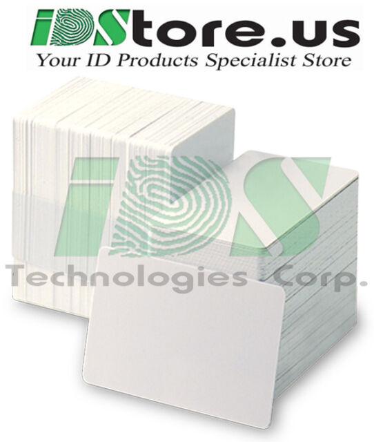 Office Supplies 500 x White Composite PVC 60/40 CR80 .30 ...