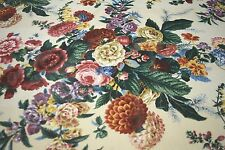 A RAMM FABRIC EASTLEIGH ENGLISH COTTON CHINZ DESIGNER HOME DECOR FABRIC SOLD BTY