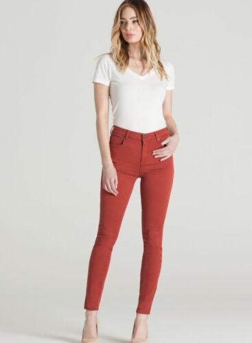 Sz Jeans Donna Skinny Parker Eva 27 Made 4 Usa In Da Nuova Rosso Smith z8Bggx4