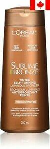 L'Oreal Paris Sublime Bronze Tinted Self-Tanning Luminous Bronzer, with Vitam...