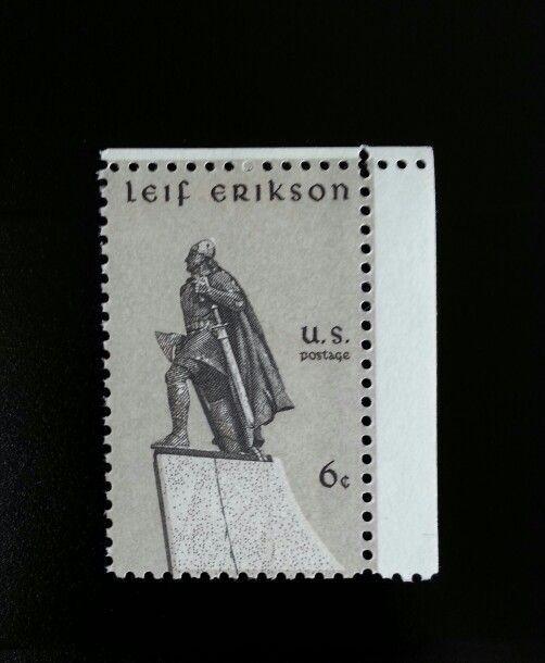 1968 6c Leif Erikson, Icelandic Explorer, Norse Scott 1