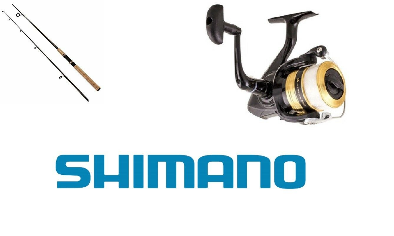 KIT SPINNING COMBO CANNA SHIMANO SOLARA 201 cm  MULINELLO DAIWA  TrossoA  BASS