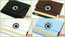 360 ° Case Tasche Smart Schutz hülle Flip Etui Bumper Cover Apple iPad 4 / 3 / 2