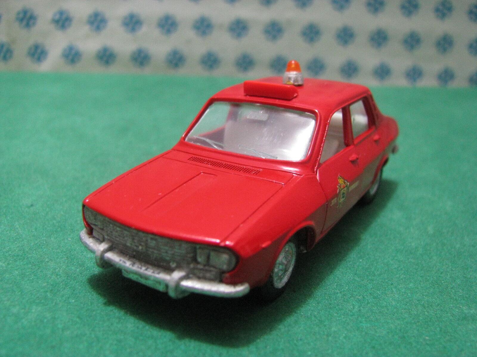Vintage - Renault 12 S Bomberos - 1 43 Auto-Pilen