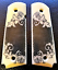 1911-fits-Colt-amp-Clones-GRIPS-Classic-Scroll-Scrimshaw-Faux-Ivory-Full-Size-1 thumbnail 2