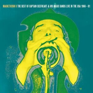CAPTAIN-BEEFHEART-amp-HIS-MAGIC-BAND-MAGNETISM-II-THE-VERY-BEST-LIVE-USA-1966-81
