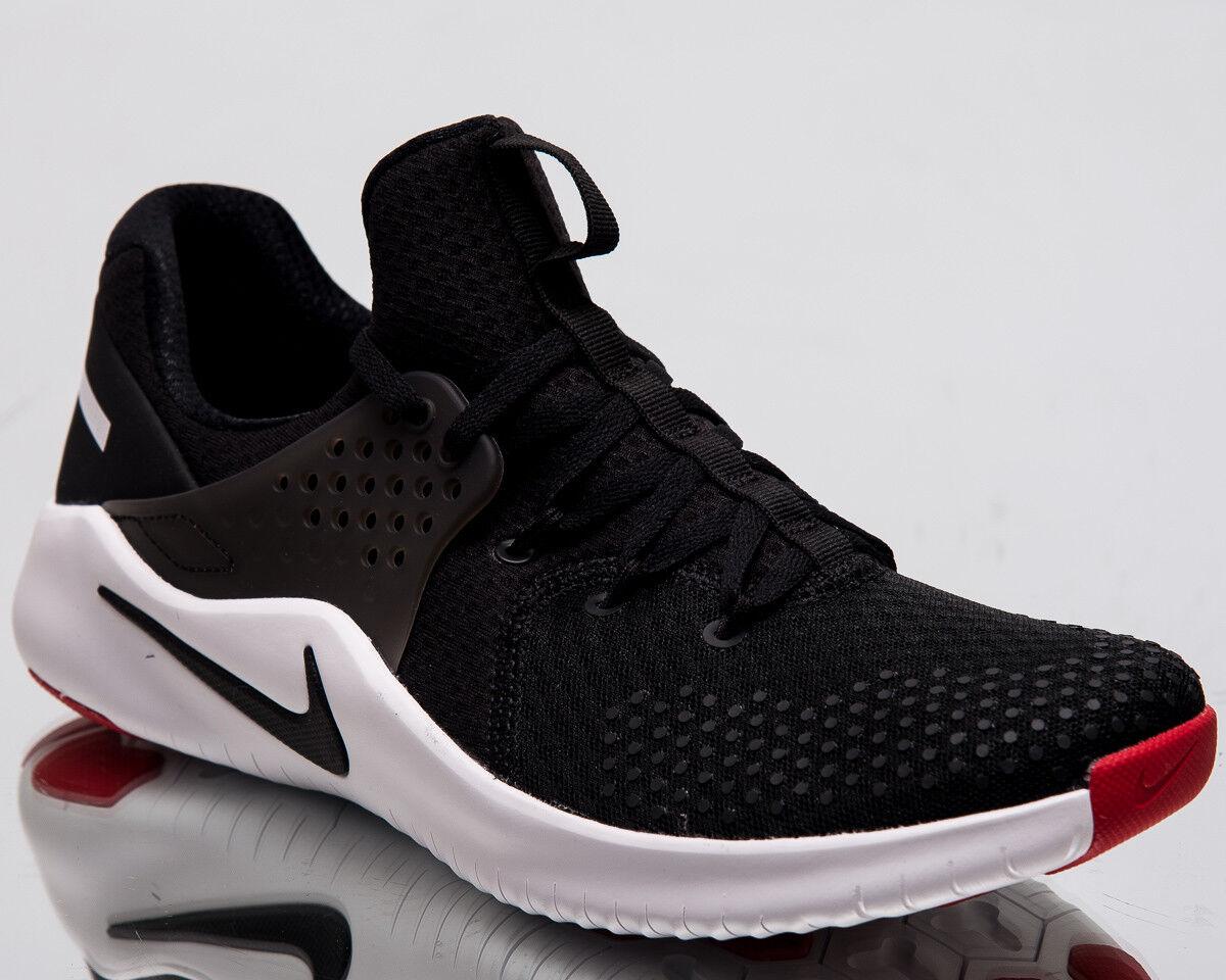Nike Free TR V8 Men New Black White Red Blaze Training Shoes AH9395-004