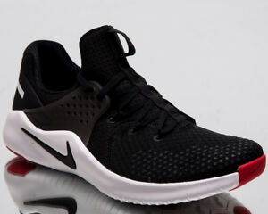 702456938f87 Nike Free TR V8 Men New Black White Red Blaze Training Shoes AH9395 ...